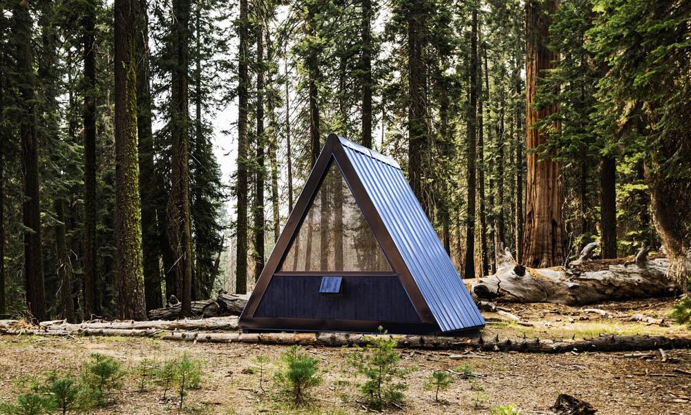 Bivvi cabin by Marc Thorpe Design