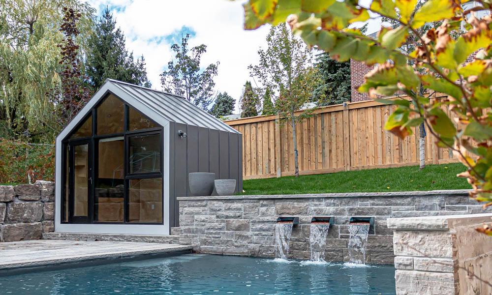 The Bunkie Monarch garden cabin design