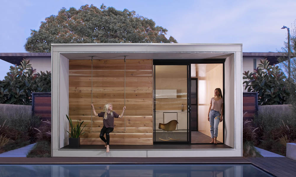 Flat-pack Plús Hús by architects Minarc