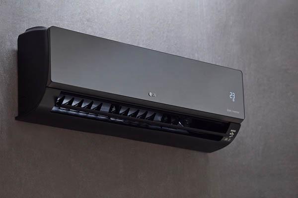 Garden office air conditioning