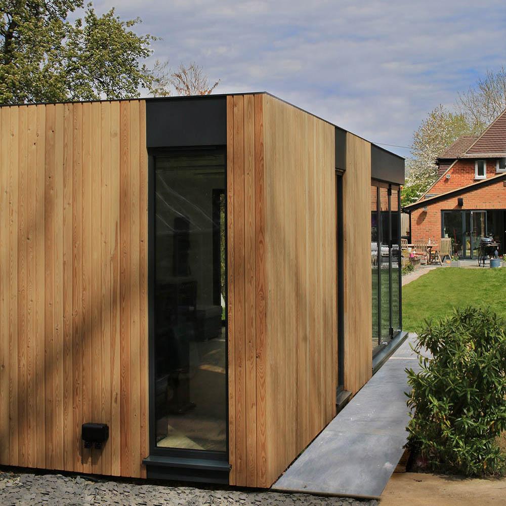 Genus garden office design ideas by SilverLeaf Spaces