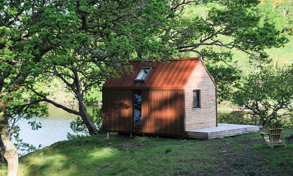 Inverlonan bothy garden cabin design ideas