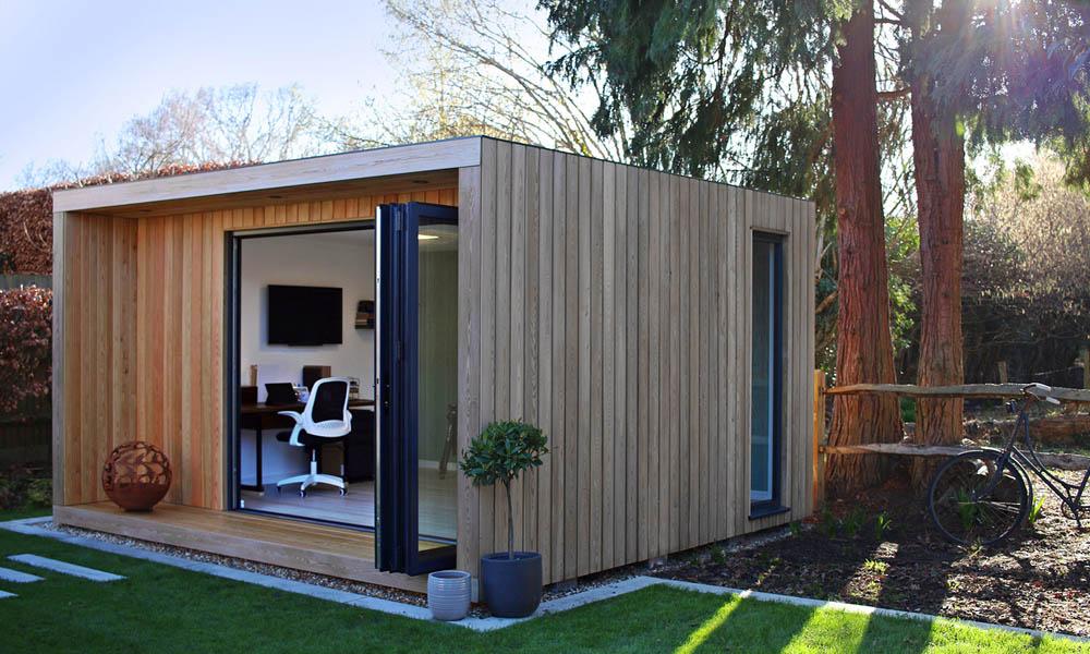 Origin contemporary garden room design by SilverLeaf Spaces