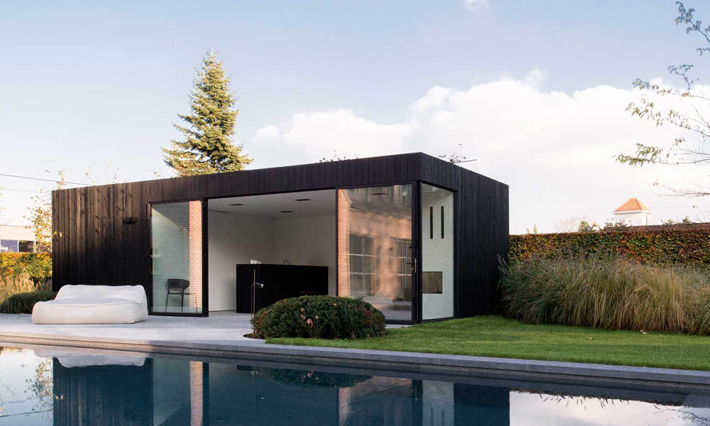 Pool house design ideas by architect Kevin Mampay