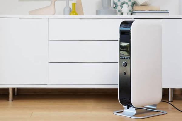 Portable oil-filled electric radiator Wi-Fi