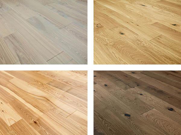 Choice of real-wood engineered flooring