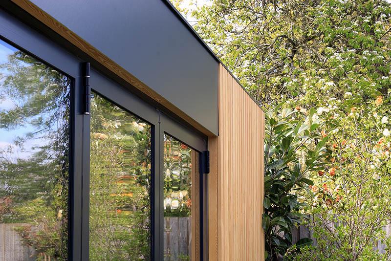 Genus garden room fascia