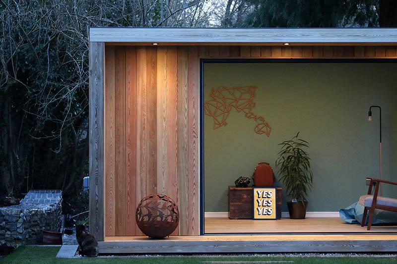 Origin contemporary garden room