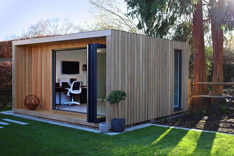 SilverLeaf Origin contemporary garden room