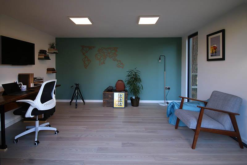 SilverLeaf garden office interior