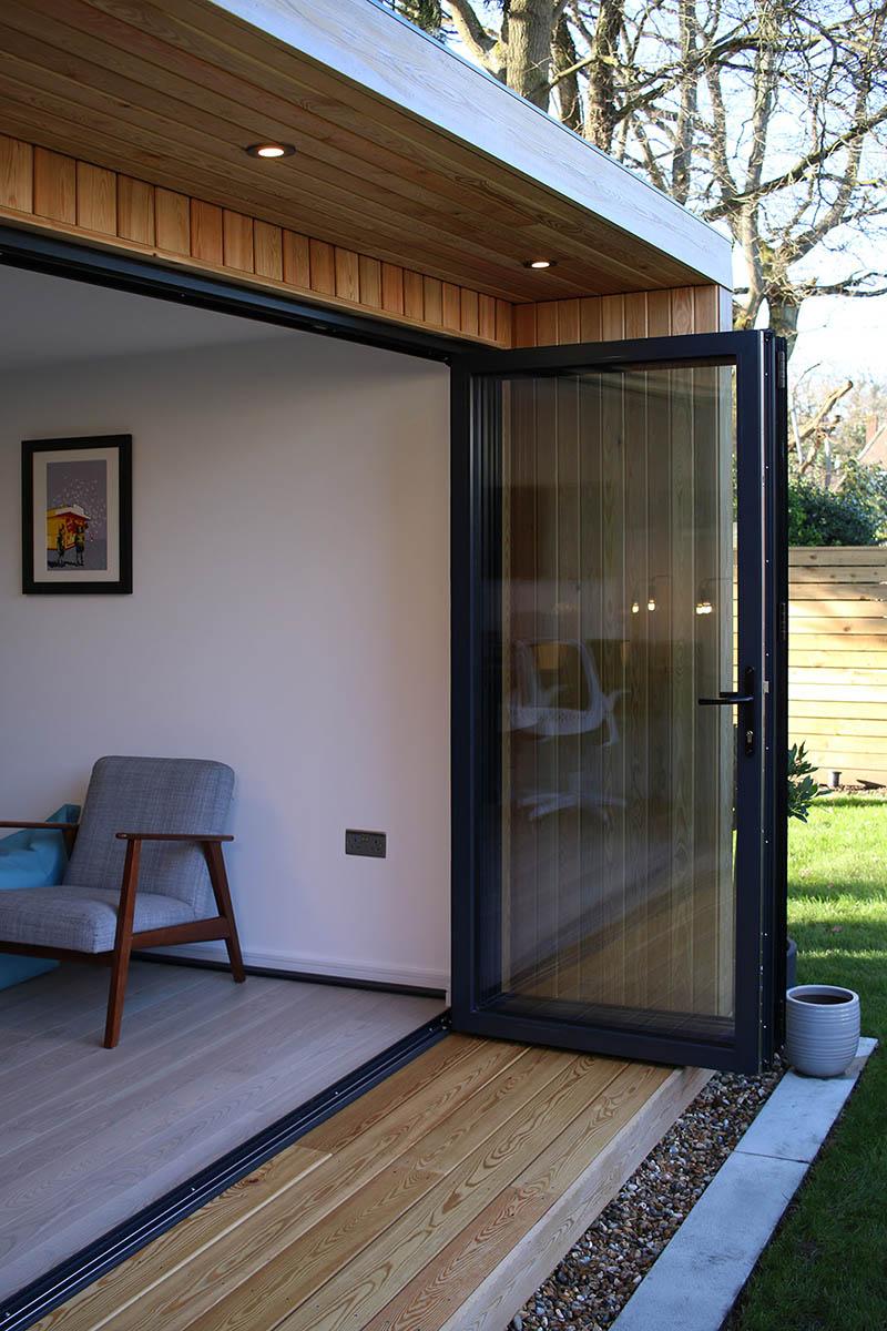 Origin quality garden room with bifold doors