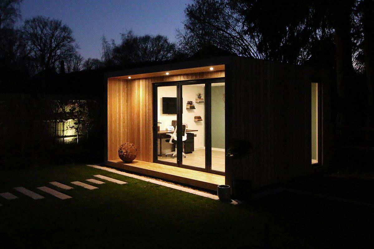 SilverLeaf contemporary garden rooms & garden offices